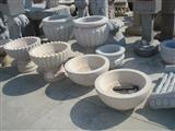 Stone Bowl Flower Pots