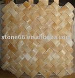 Yellow Marble Mosaic Tiles
