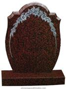 GH15 Balmoral Red Headstone