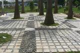 Pebble Stone Paving