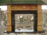 Double Tone Fireplace