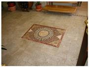 Travertine Antiqueted Finishings