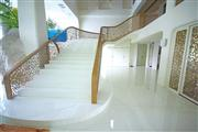 White Crystallized Stone Stairs, Steps