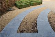 Tumbled Blue Stone Paving