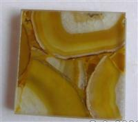 ES-M020 Yellow Agate Transparent Tile