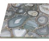 ES-M022 Natral White Agate Transparent Tile