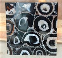 ES-M024 Black Agate Transparent Tile