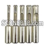 brazed diamond hole saw for limestone granite drilling tool