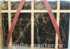 Black Gold Marble Slabs