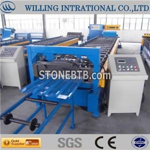 Trapezoid Shape Steel Roll Forming Machine