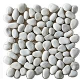 Ivory pebble floor tile