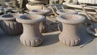 Outdoor Stone Flower Planters