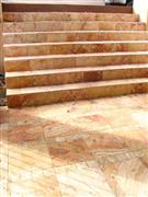 Antiquated Limestone Stairs and Steps