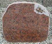 Red Vanga Granite Headstone