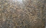 Indian black pearl polished granite slab