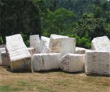 Pure White Marble Blocks