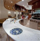 Marble agglomerate kitchen countertops