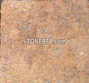 Peach Travertine Tumbled