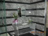 Black Wooden Marble