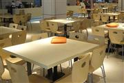 Tell world solid surface modern dinning table