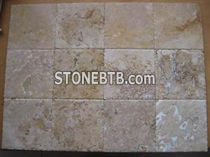 Chiseled Edge Travertine Tiles