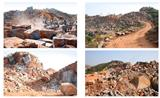 Vizag Blue Quarry, Granite Blocks