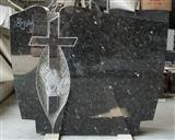Blue Pearl Granite Headstone