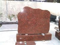 Carmen Red Granite Headstone