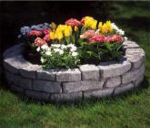 Concrete products, stone, wall, outdoor garden