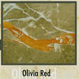 Olivia Red Marble