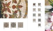 Travertine Mosaic Inlay Stone Medallions
