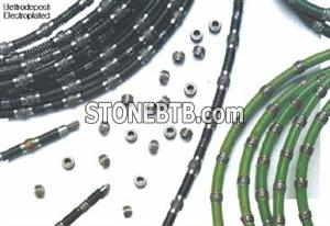 Electroplated wires