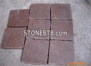 Red Granite in Flamed Surface