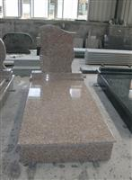 Beige Granite Tombstone