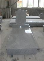 Gray Granite Tombstone 01