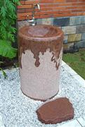 maple red wash Basin