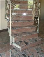 Red Stair Treads