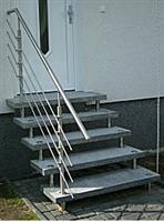 Gray Stair Tread