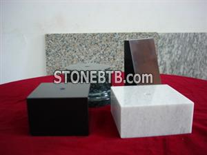 white marble trophy base