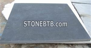 Honed bluestone tile