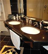 Black galaxy bathroom top