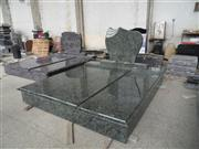 Olive Green Granite Monument