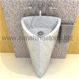 Carrara Pedestal Sink