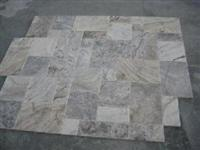 Silver Travertine Honed and Filled Pattern