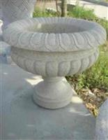 Stone Granite Vase Flower Pot Planter