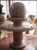 Stone Fountain, Marble Floating Ball