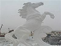 Animal Stone Carving-Handsome Horse
