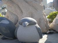Animal Stone Carving-Penguin