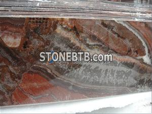 red onyx cut to size