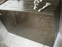 Stone Granite Slab Tile Top (Tropical Brown)